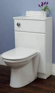 Eastbrook Furniture -  Eastbrook 1.070 New Diamante 50cm Wc Unit