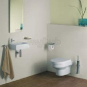Twyford Indulgence Sanitaryware -  Indulgence 400 Basin 1 Right Hand Tap Obsolete Id4831wh