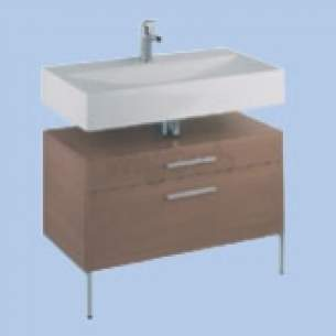 Twyford Galerie Plan Furniture -  Indulgence 600 Basin Furniture Unit Id6960fb