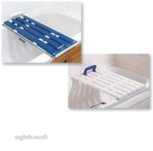 Akw Medicare Products -  22425 Tromode 725mm 6 Slattd Bathboard Bl
