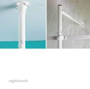 Akw Medicare Products -  Akw 24075 Shower Curtain 1800 X 1400 Drop