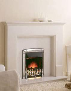Valor Gas Fires and Wall Heaters -  Valor Dream Convector C1 Fire Chrome