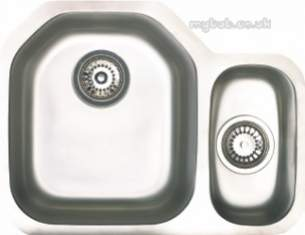 Astracast Sinks and Accessories -  Echo D1r Undermount Feature Sink Pack P/steel
