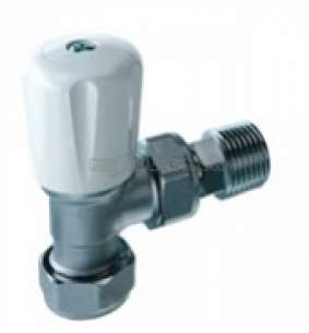 Altecnic Sealed System Equipment -  8mm Ang Eclipse Valve With Wh And Ls Cap