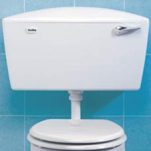 Thomas Dudley Cisterns -  Elite 6-9l Single/duo Flush Cistern Wh