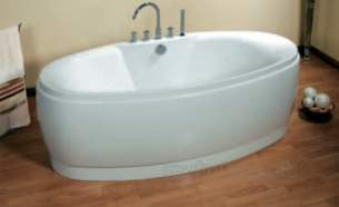 Eastbrook Baths -  23.5091 Elysee Free Standing Bath White