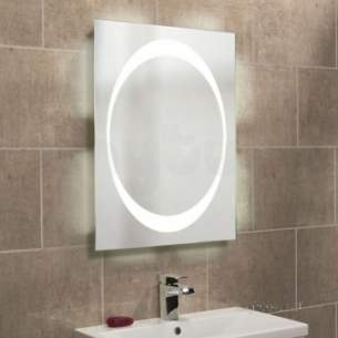 Roper Rhodes Accessories -  Equator Backlit Mirror With Ambi Light