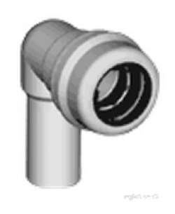 Marley Equator -  Equator Spigot Elbow 22mm Esb9022