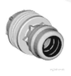 Marley Equator -  Equator Tank Connector 22mm X 3/4 Inch Etkc223