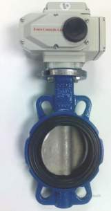 Esbe Limited -  Essco 4 Inch 2 Way Mtr Bfly Valve 240vac