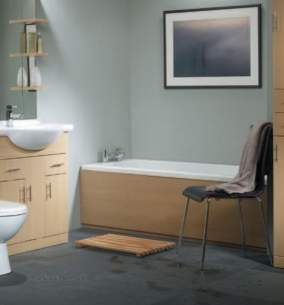 Roper Rhodes Bath Panels -  Roper Rhodes Evolution Bath Panel 1700 Front