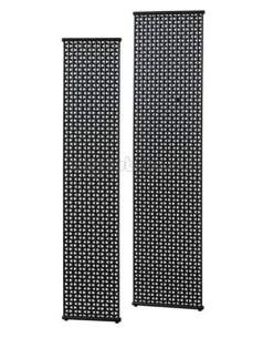Stelrad Design Decorative Radiators -  Excel F/s T.warmer 2000x500 Matt Black