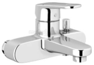Grohe Tec Brassware -  Grohe Europlus 32625 Exposed Bath Mixer