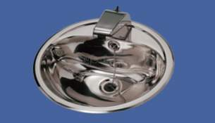 Sissons Stainless Steel Products -  F7081 460 Dia Wash Hand Basin Ss