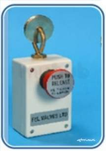 Free Fall Fire Valves -  Fel Manual Quick Release Mechanism