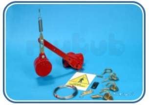 Free Fall Fire Valves -  Fel M6 Hook And Eye Cable Strainer