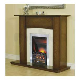 Smiths Environmental Fan Convectors -  Fireplace Surround-antigue Oak/cream