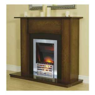 Smiths Environmental Fan Convectors -  Fireplace Surround-antique Oak/black