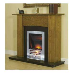 Smiths Environmental Fan Convectors -  Smiths Fireplace Surround-yew/black