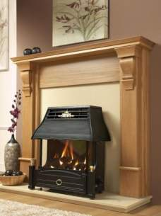 Flavel Gas Fires -  Flavel Emberglow Rc Gas Fire Ng Femc00rn