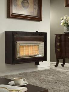 Flavel Gas Fires -  Flavel Misermatic Deluxe Etc Ng Mahogany