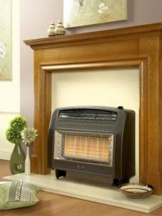 Flavel Gas Fires -  Flavel Strata Etc Gas Fire Ng Brown