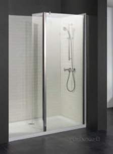 Eastbrook Showers -  38.618 Flipper Walkin 800mm Side Pnl Sil
