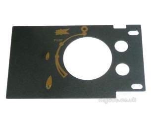 Focal Point Fires Gas Spares -  Focal Ft003130/0 Data Plate F710404
