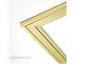 Focal Point Fires Gas Spares -  Focal Fr005300/0 Frm10 Frame Brass