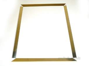 Focal Point Fires Gas Spares -  Focal F820077 Frame-trinity Brass