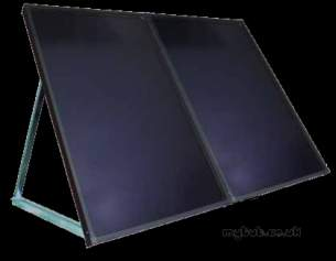 Dimplex Solar Heating Products -  Dimplex 4 M2 Roof Kit Free Standing