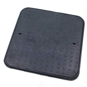 Manhole Covers and Frames Cast Iron -  Mcf C/i 600x600 Sld/top A15 Clks12