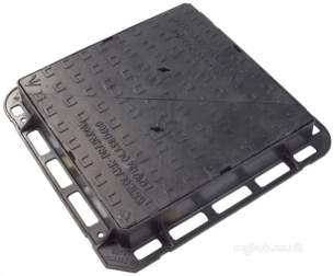 Manhole Covers and Frames Ductile Iron -  Mcf Duct 675x675 D/tri D400 Clk1659kmd