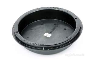 Manhole Covers Frames and Gully Grates -  Chameleon 450mm Dia Grass Recess C And F