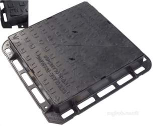 Manhole Covers and Frames Ductile Iron -  Mcf Duct 675x675x100 D/tri D400 Ha104 Clks 1659 Kmdfw