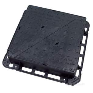 Manhole Covers and Frames Ductile Iron -  Mcf Duct 675x675x150mm D400 Clk1659askm