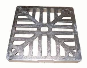 Clark Drain Polypropylene Drainage Channel -  160x160 Square Alloy Hopper Lid Cd U1159