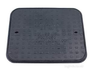 Manhole Covers and Frames Cast Iron -  Mcf C/i 600x450 Sld/top A15 Clks62