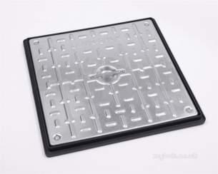 Manhole Covers and Frames Steel and Galv -  450x450 S/loc S/top Galv C And F Pc5ag3