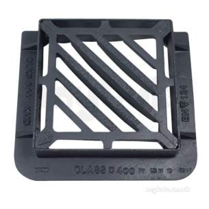 Manhole Covers and Frames Ductile Iron -  Ggf Duct 415x415 D/tri D400 Clks644kmc