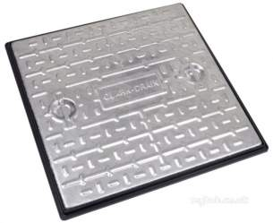 Manhole Covers and Frames Steel and Galv -  Mcf 600x600x10t Galv S/s S/top Pc7cg