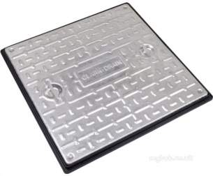 Manhole Covers and Frames Steel and Galv -  600x600x10t S/loc S/top Galv C And F Pc7cg3