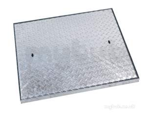 Manhole Covers and Frames Steel and Galv -  Mcf 600x450x38t Galv S/s S/top C6fg