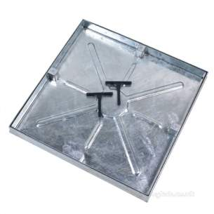 Manhole Covers and Frames Steel and Galv -  450mm X 450mm C/o Water Tight Recess Cvr And F