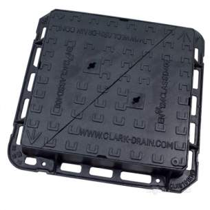 Manhole Covers and Frames Ductile Iron -  Mcf Duct 600x600 D/tri D400 Clks701kmd