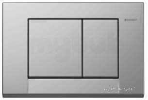 Geberit Commercial Sanitary Systems -  Bolero Dual Flush Plate 115 777 Dw 1