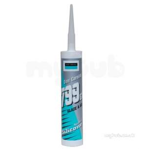 Adhesives and Sealants -  Dow Corning 799 Eu Glaz And Go Neut Seal Wh