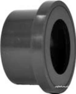 Georg Fischer Upvc Fittings and Valves Metric -  Georg Fischer Upvc Flange Adaptor 217901 225 721790120