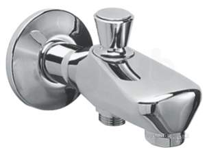 Grohe Tec Brassware -  Grohe Wall Spout 3/4 Inch 13435000