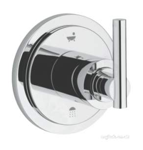 Grohe Shower Valves -  Atrio 4-port Diverter Trim 19133000